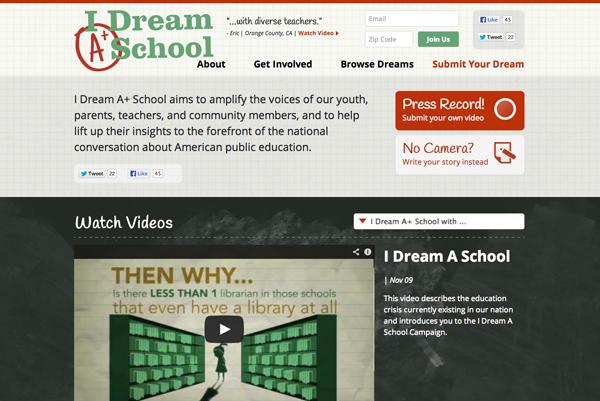 I Dream A School